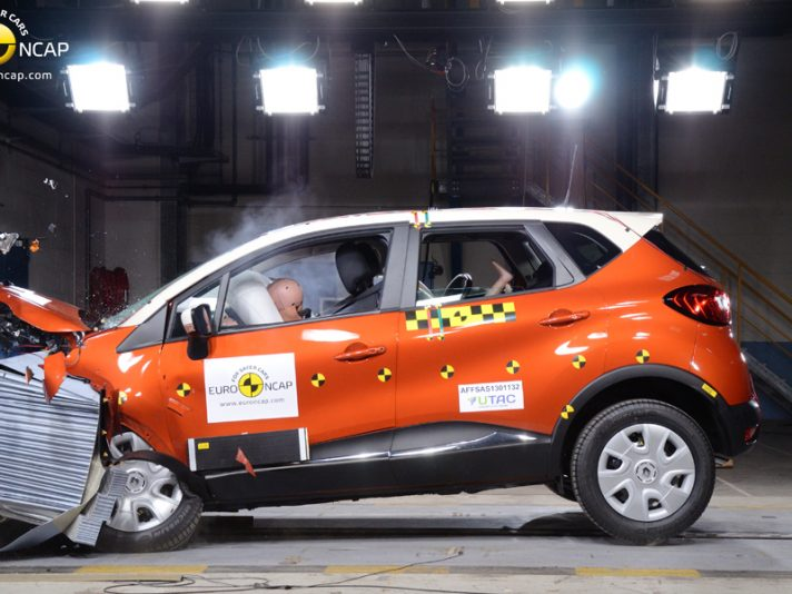 Euro NCAP 2013, crash test: Captur e Trax promosse