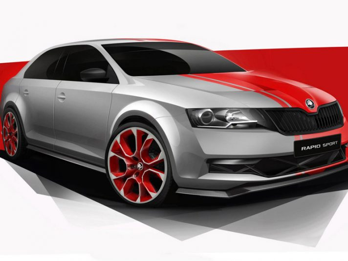 Skoda Rapid Sport Design Concept: la berlina low cost fa la cattiva