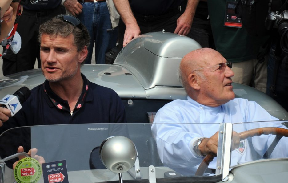Stirling Moss e David Coulthard