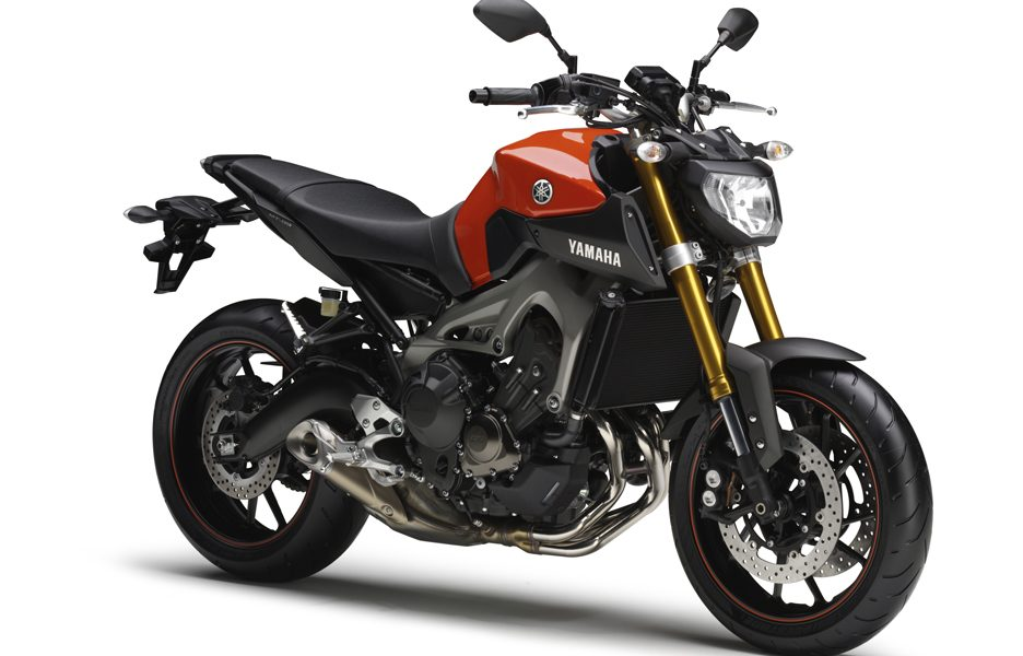 Yamaha MT-09 2014 - Blazing orange