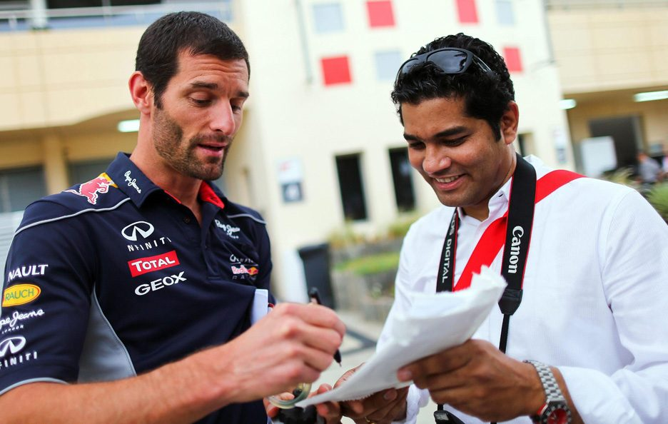 Mark Webber 12