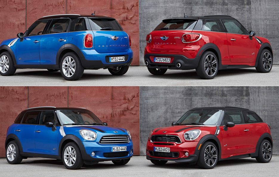 Mini Paceman e Mini-Countryman