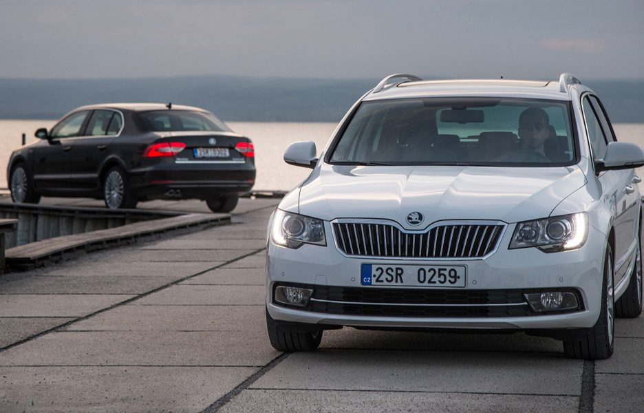 Skoda Superb e Superb Wagon