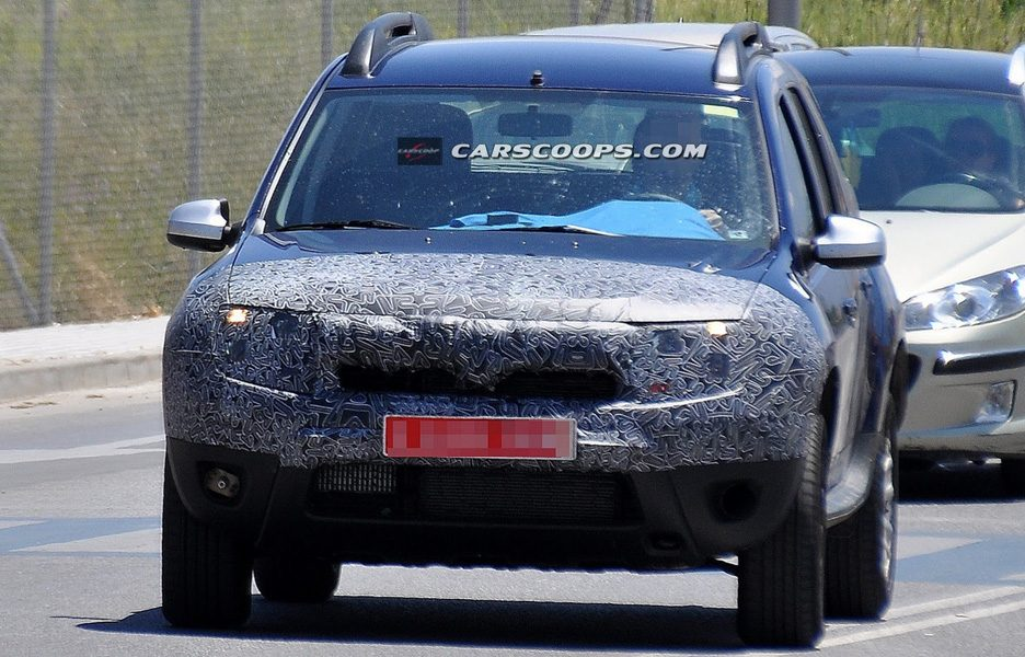 Dacia Duster 2014 - Frontale