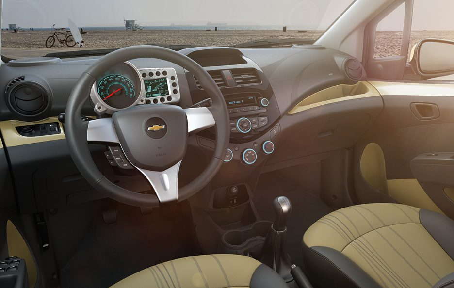 Chevrolet Spark interni