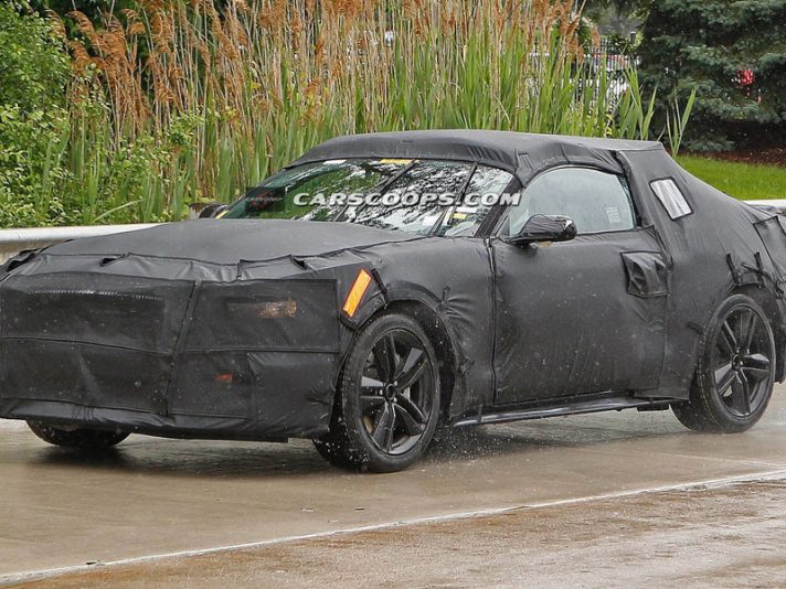 Ford Mustang 2015, le foto spia