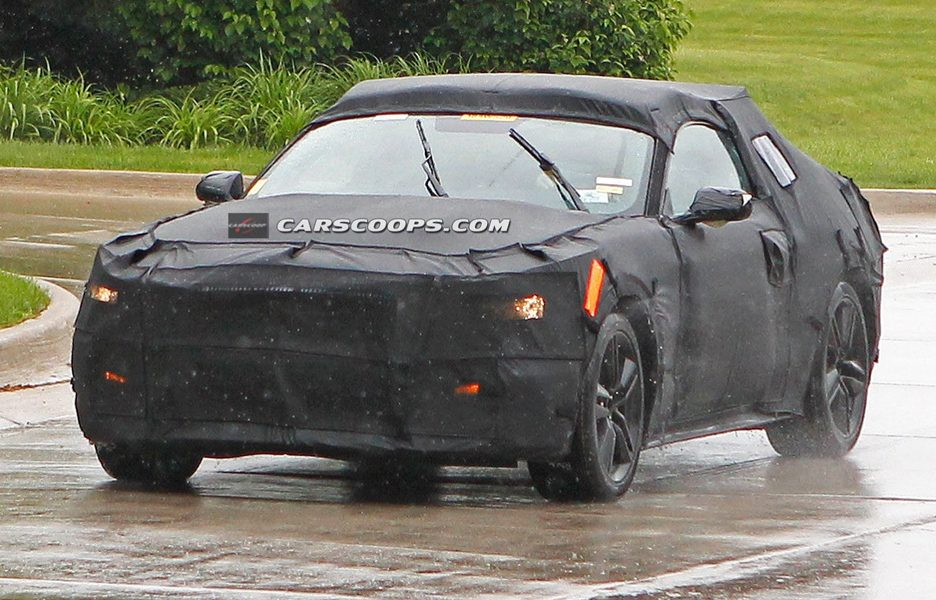 Ford Mustang Coupè 2015 - Frontale