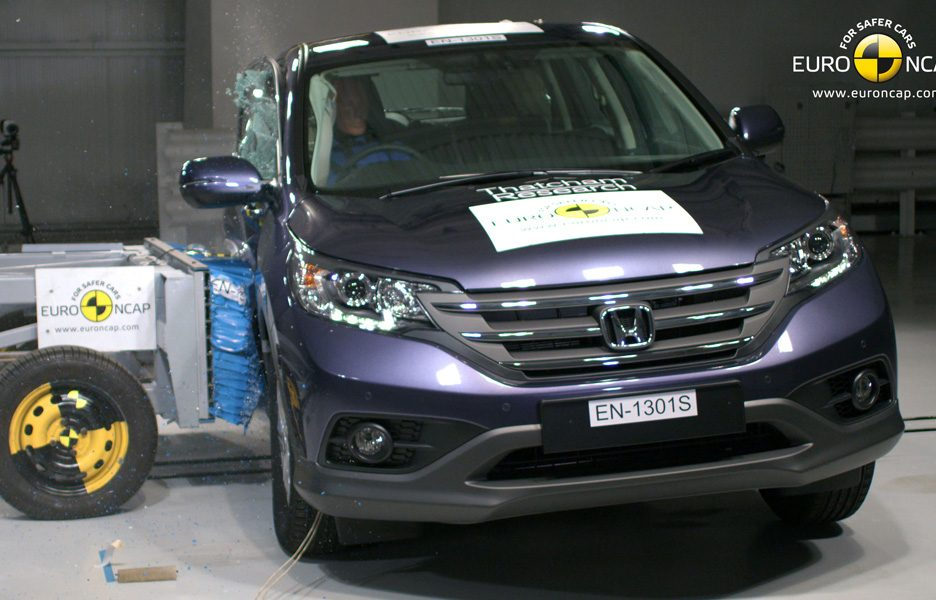 Honda CR-V - crash laterale