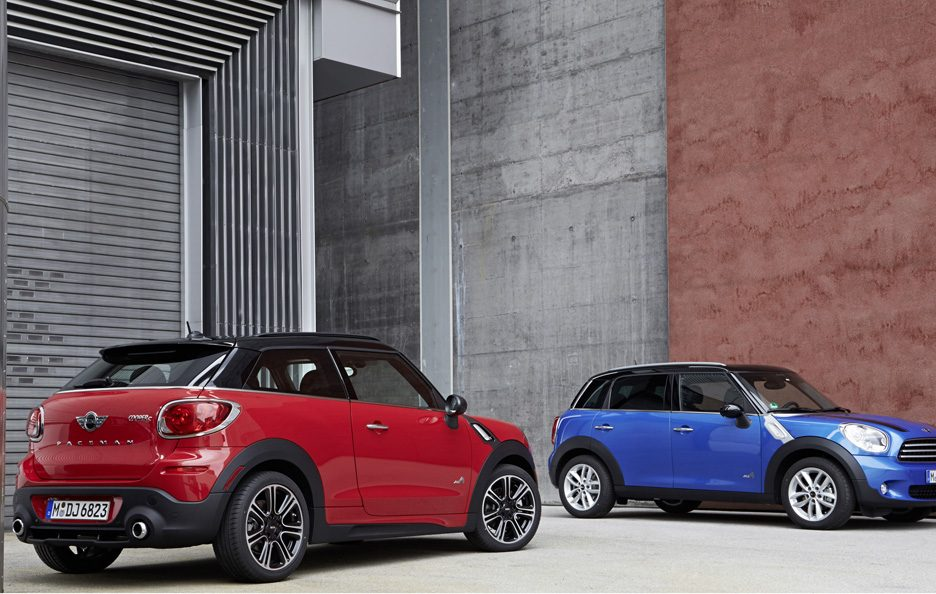 Mini Paceman e Mini Countryman