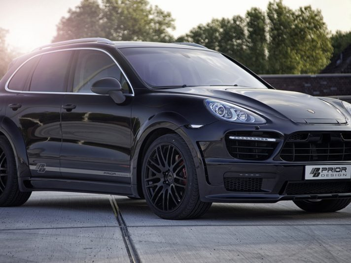 Porsche Cayenne II PD600 Widebody