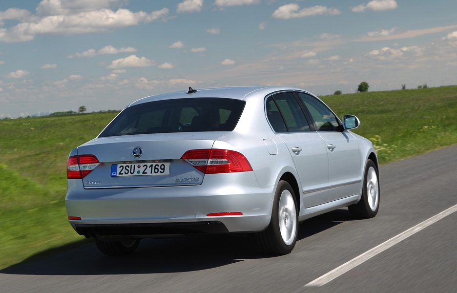 Skoda Superb - Coda