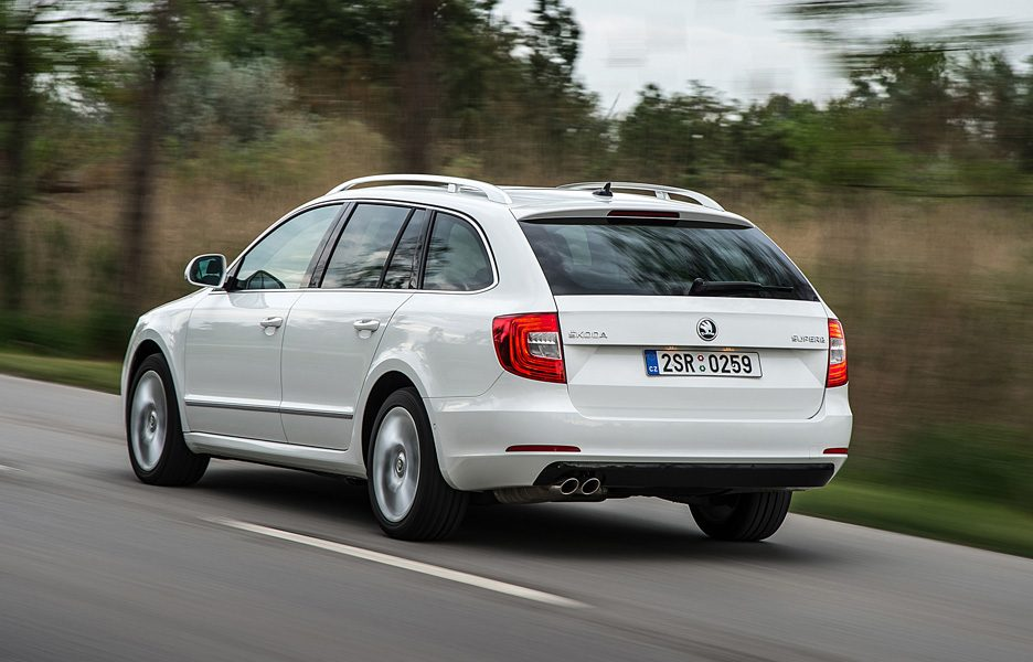 Skoda Superb Wagon - Coda