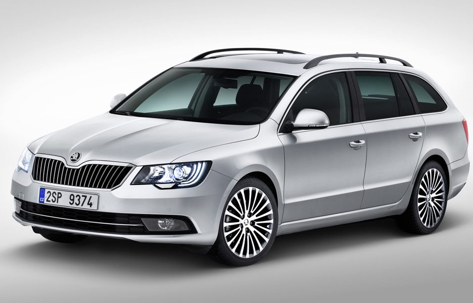 Skoda Superb Wagon - Design