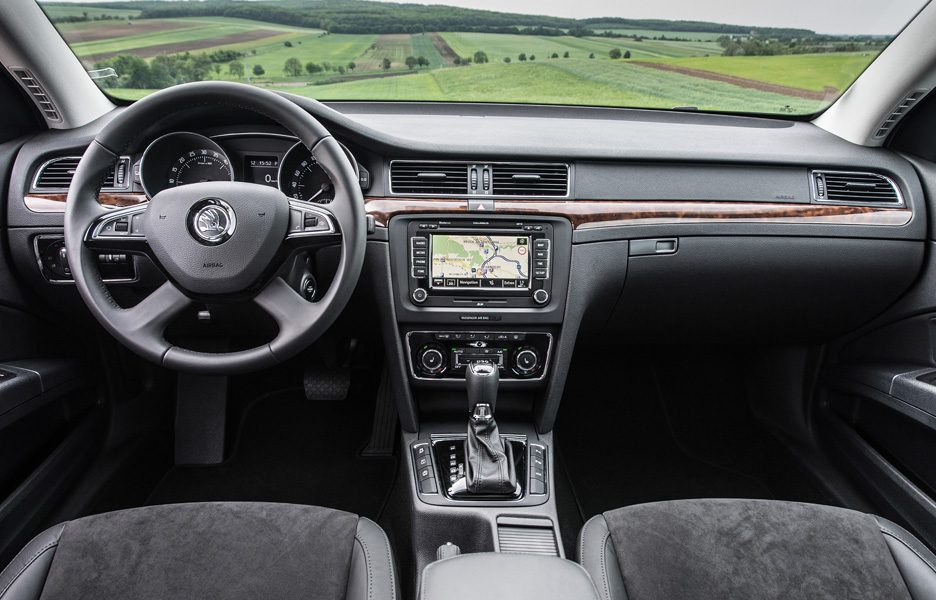 Skoda Superb e Superb Wagon - Interni