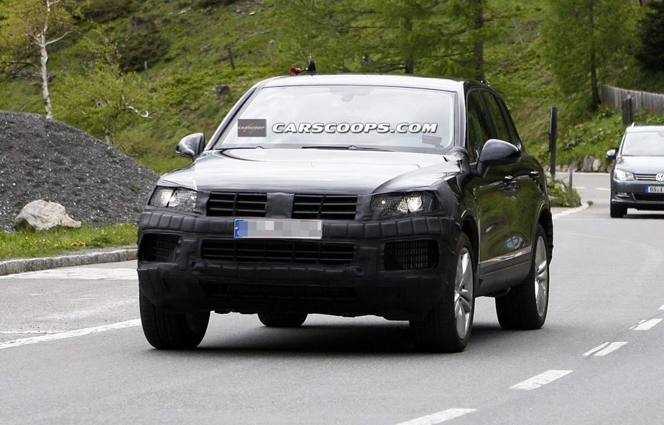 Volkswagen Touareg Restyling - Frontale
