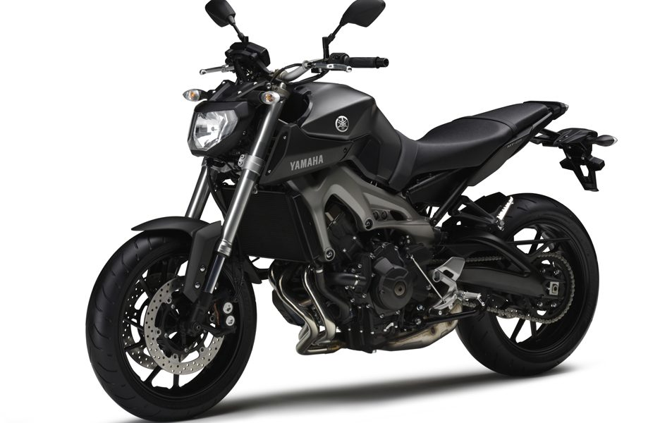 Yamaha MT-09 2014 - Matt grey