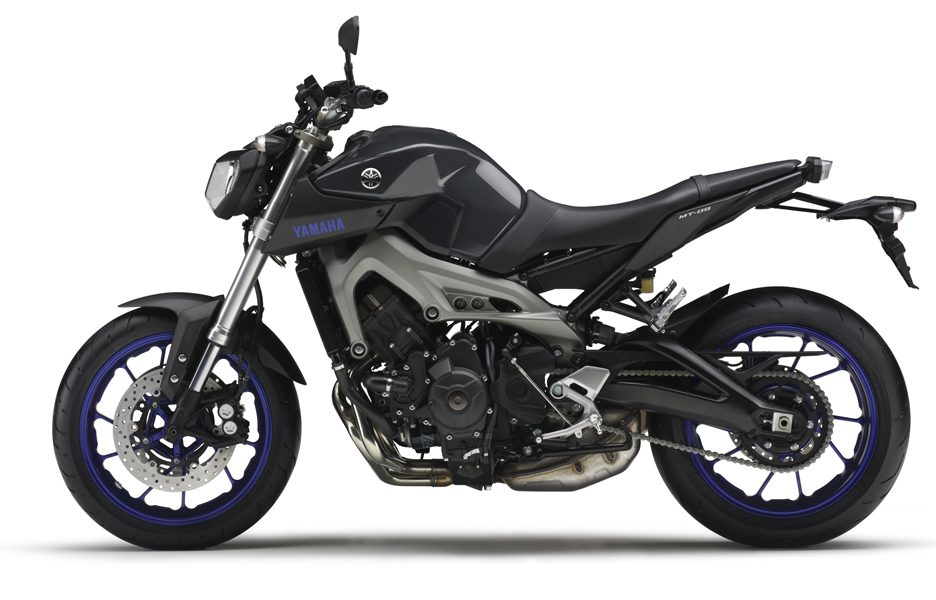 Yamaha MT-09 2014 - Race blu