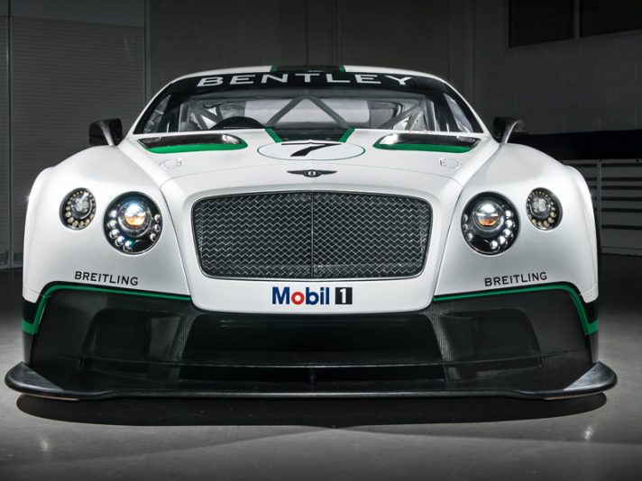 Bentley Continental GT3: svelata la versione finale a Goodwood 2013