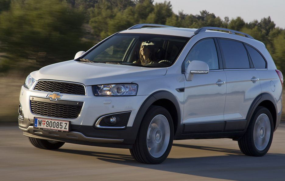 Chevrolet Captiva restyling