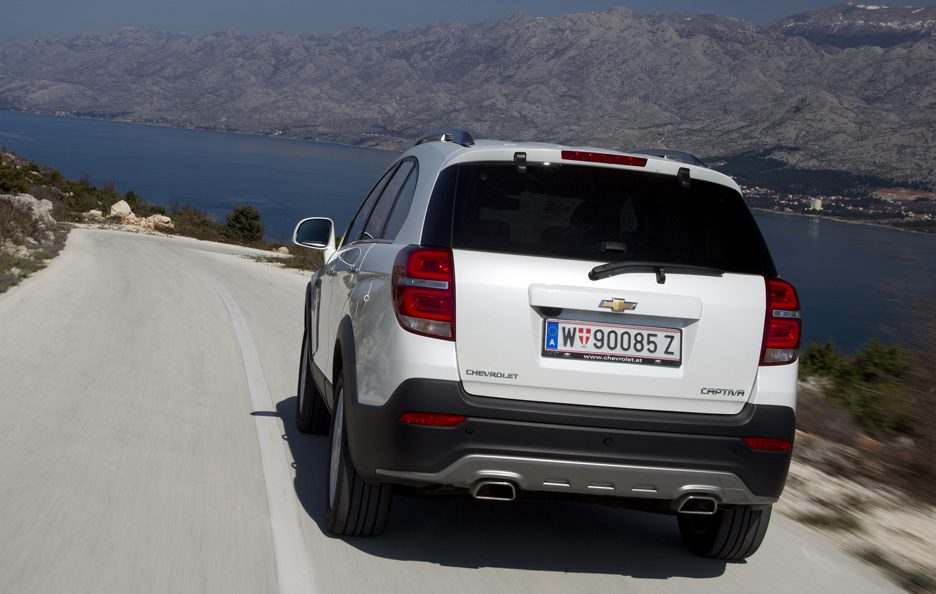 Chevrolet Captiva restyling coda