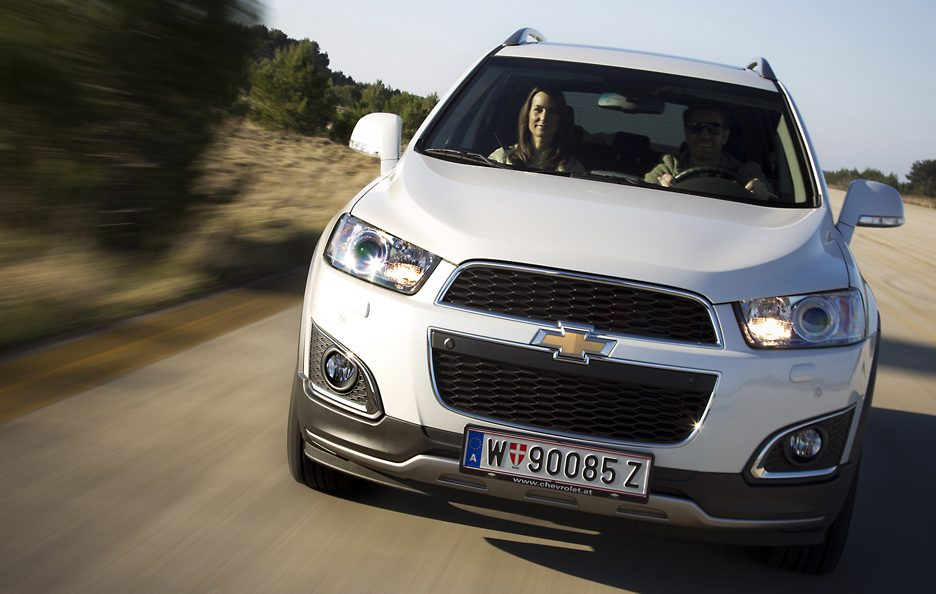 Chevrolet Captiva restyling frontale