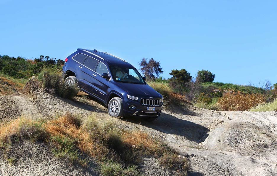 Jeep Grand Cherokee in motion