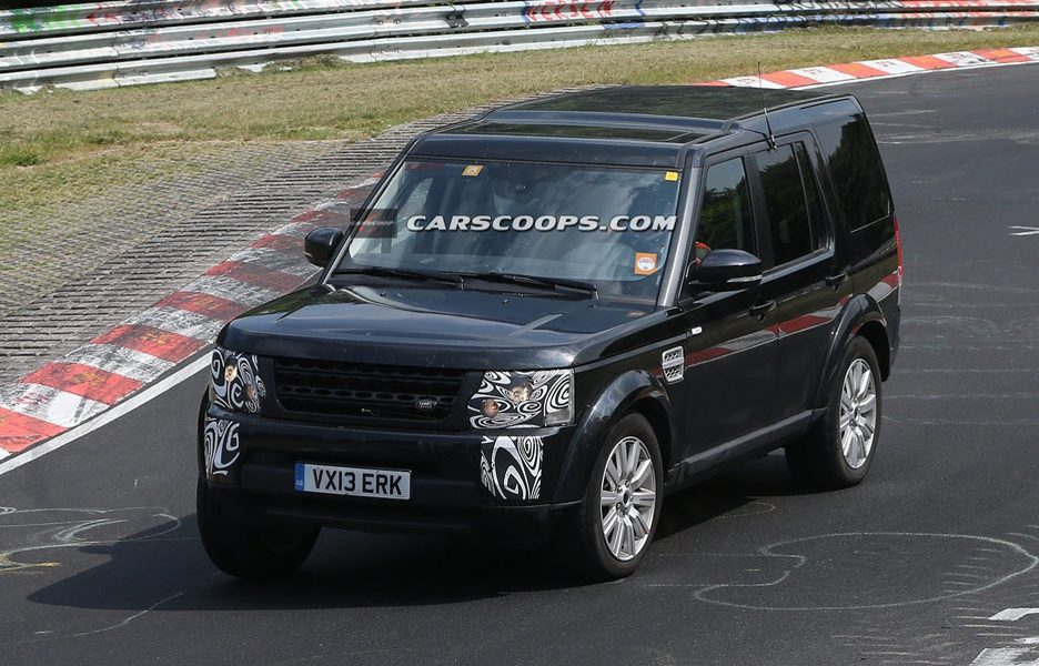 Land Rover Discovery 2014 - Anteriore