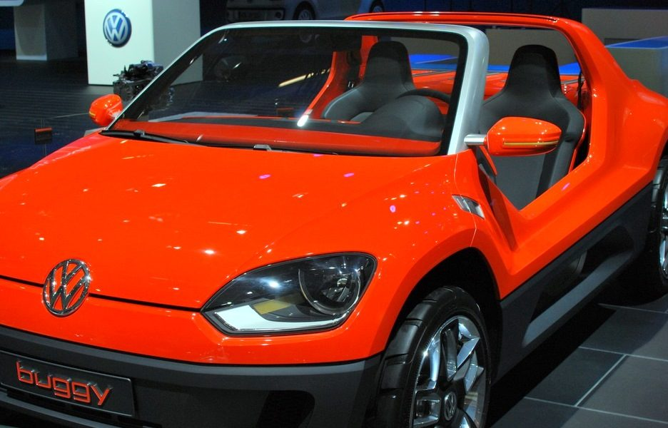 Motor Show 2011 - Volkswagen buggy up! - Il frontale