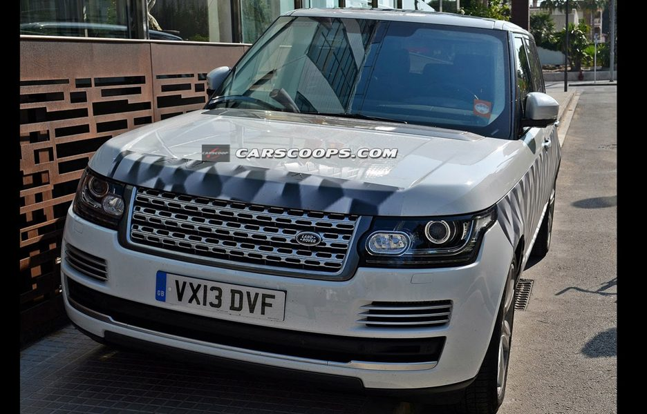 Range Rover LWB 2015 - Frontale