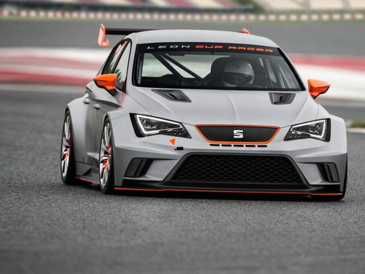 Seat Leon Cup Racer - Frontale
