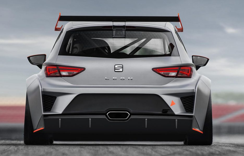 Seat Leon Cup Racer - Posteriore