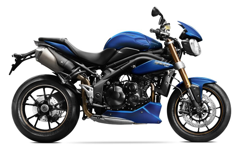 Triumph Speed Triple 1050 my 2014 -  Matt Caspian Blue
