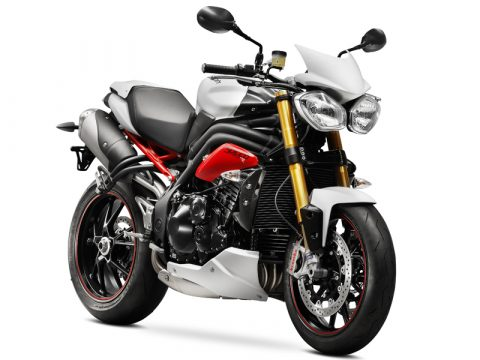 Triumph Speed Triple my 2014 - R Crystal White