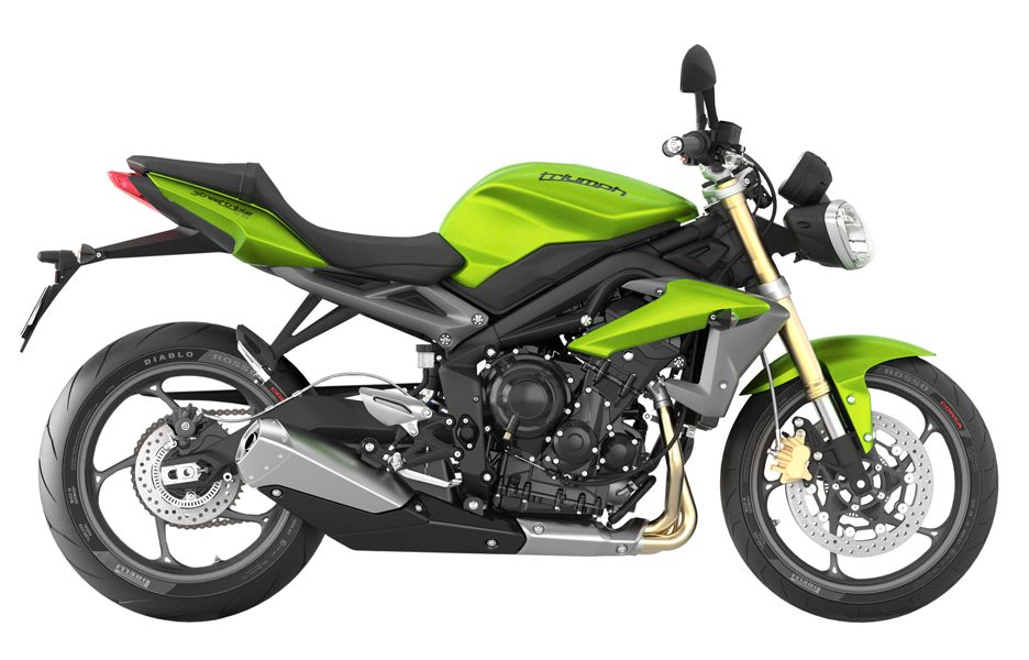 Triumph Street Triple my 2014 - Cosmic Green