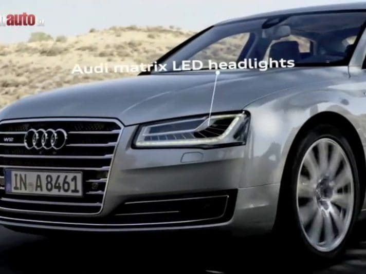 Audi A8 e S8 restyling, il video