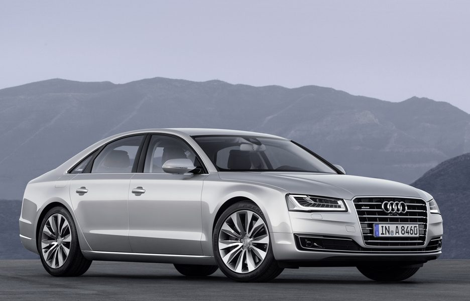 Audi A8 - Frontale