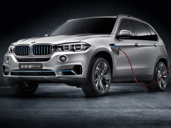 BMW Concept5 X5 eDrive - Frontale
