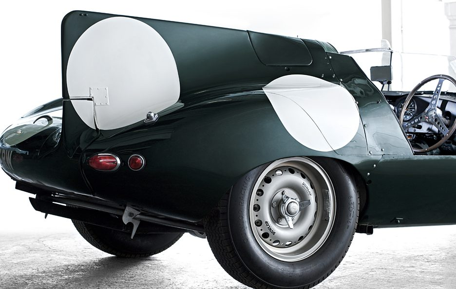 Jaguar D-Type pinna