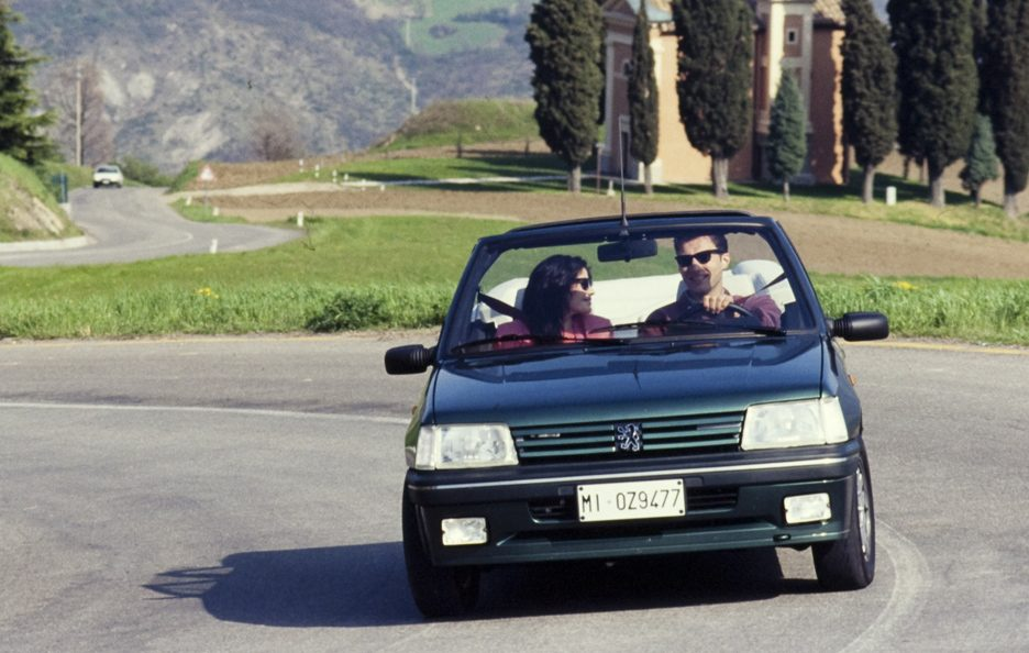 Peugeot 205 Cabrio restyling frontale