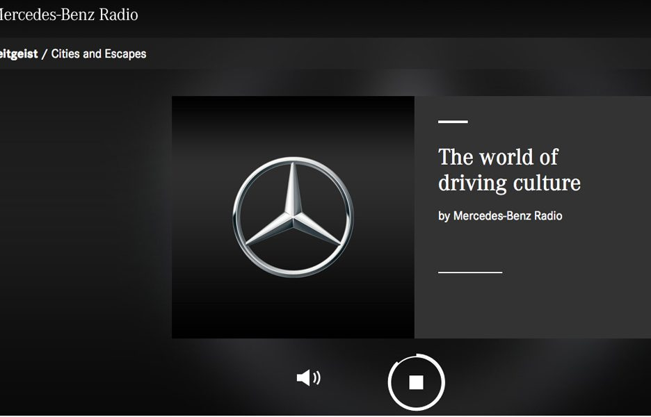 Mercedes-Benz Radio 1