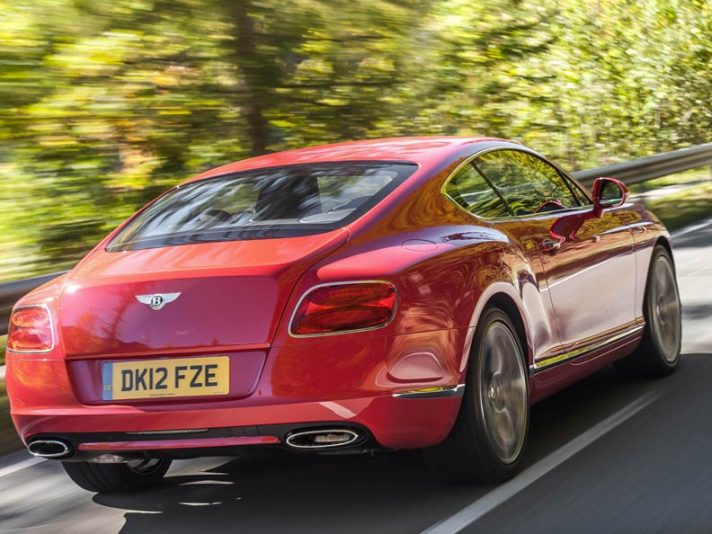 Bentley Continental GT Speed Tre quarti posteriore