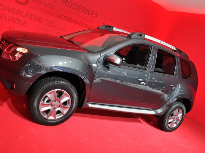Dacia Duster restyling 2 - Francoforte 2013