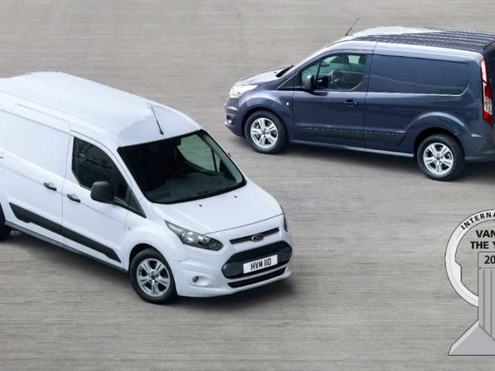 Ford Transit Connect è Van Of The Year 2014