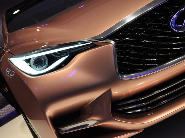 Infiniti Q30 Concept - Frontale