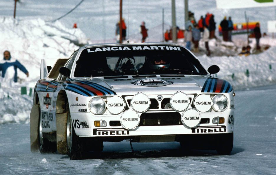 Lancia 037 frontale