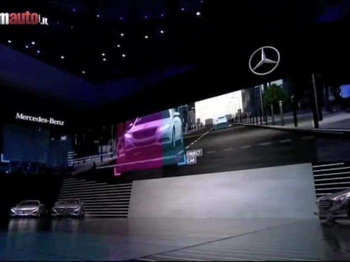 Mercedes Benz al Salone di Francoforte 2013, il video ufficiale