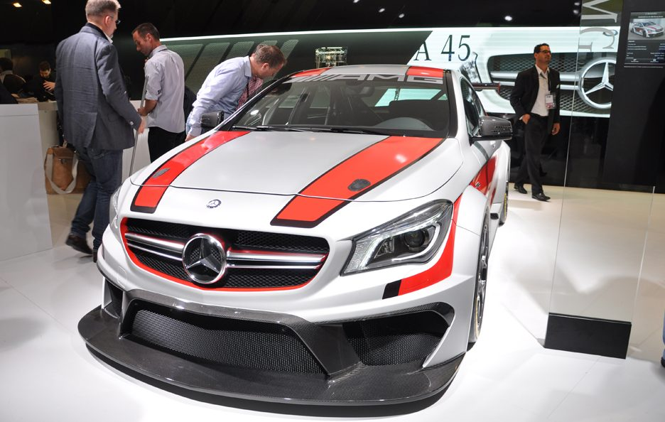 Mercedes CLA 45 AMG Racing Series 2 - Francoforte 2013