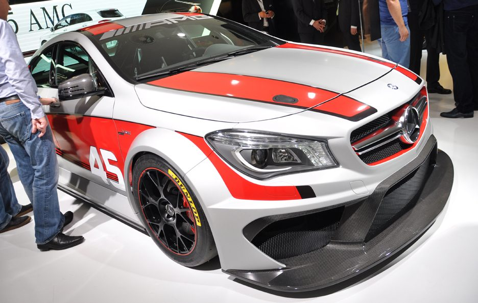 Mercedes CLA 45 AMG Racing Series 3 - Francoforte 2013