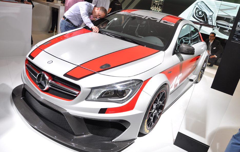 Mercedes CLA 45 AMG Racing Series - Francoforte 2013