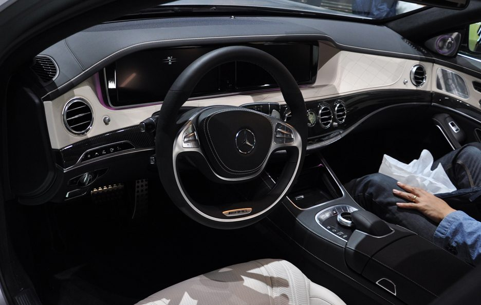 Mercedes S 63 AMG interni - Francoforte 2013